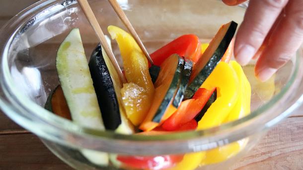 野菜グリルレシピ2