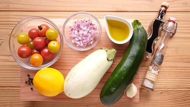 マルットヴィーガン レシピ 野菜グリル2