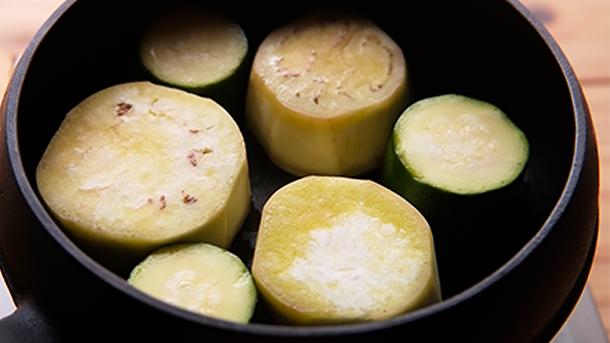 マルットヴィーガン レシピ 野菜グリル4
