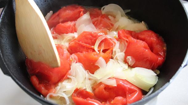 鉄鍋レシピ カレー煮込み