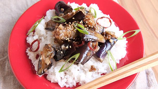 マルットヴィーガン レシピなす中華炒め11