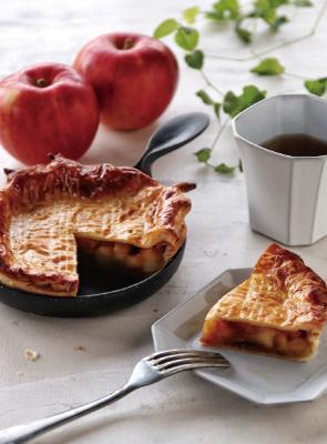 フライパンでアップルパイ