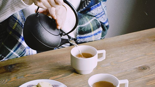 鉄急須と瓶敷 おすすめセット