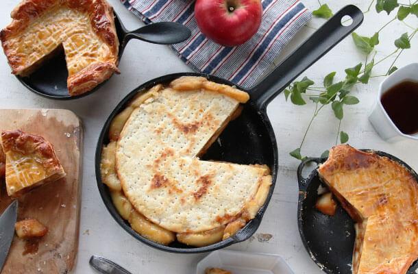 りんごレシピを鉄器で愉しむ